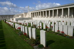 Pozieres 1. Pozieres WW1 Commonwealth war cemetery. Albert. Somme. France Royalty Free Stock Photography