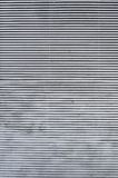 poziomy jalousie metaliczny Zdjęcie Stock