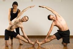 poziomy klasy jogi Zdjęcie Stock