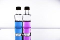 Pozione di amore - i prodotti chimici della selezione di sesso Immagine Stock Libera da Diritti