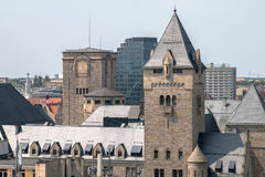 """PoznaÅ """"panorama från taket arkivfoto"""
