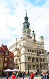 Poznań Town Hall Stock Image