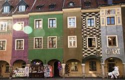 Poznański centrum miasta zdjęcie royalty free