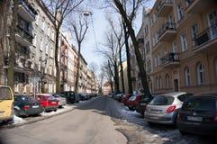 Parkujący samochody Fotografia Stock