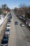 Parkujący samochody Zdjęcie Royalty Free