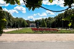 Pozna公园威尔逊Kasprzaka 免版税图库摄影