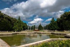 Pozna公园威尔逊Kasprzaka 库存照片