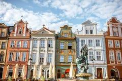 Poznański miasto w Krakow zdjęcia royalty free