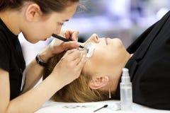 POZNAN - APRIL 26: Look Beauty Fashion Forum Poznan 2014. Beauti Stock Photo