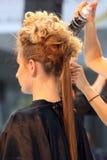 POZNAN - APRIL 26: Look Beauty Fashion Forum Poznan 2014. Royalty Free Stock Photography
