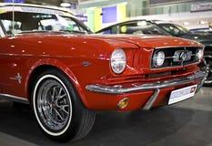 Poznan-Autoausstellung 2012 Stockbilder