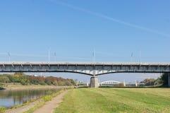 Poznan bridge Royalty Free Stock Photo
