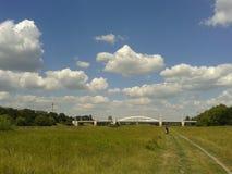 Poznan bridge Stock Photography