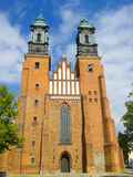 Poznan cathedral Royalty Free Stock Image