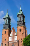 Poznan cathedral towers Stock Photography