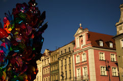 Poznan city center Royalty Free Stock Images