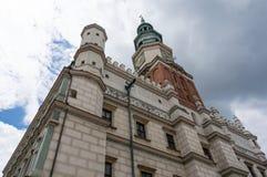 Poznan City Hall Royalty Free Stock Photo