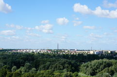 Poznan cityscape Royalty Free Stock Photo