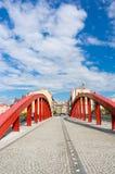 Poznan Jordan bridge Royalty Free Stock Photography