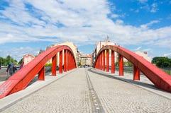 Poznan Jordan bridge Royalty Free Stock Image