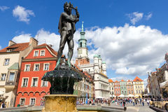 Poznan - la Pologne Images libres de droits