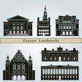 Poznan Landmarks Stock Photography