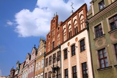 Poznan main square, Poland Royalty Free Stock Image