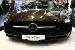 Poznan Motor Show 2012 Stock Photos