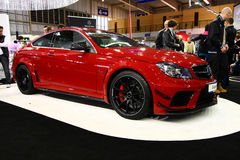 Poznan Motor Show 2012 C63 AMG Coupe Black Series Royalty Free Stock Images