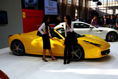 Poznan Motor Show 2012 Ferrari Stand Stock Image