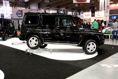 Poznan Motor Show 2012 Mercedes G-class Royalty Free Stock Photos