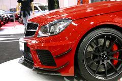 Poznan Motor Show 2012 SLS Royalty Free Stock Photo