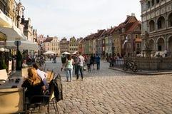 Poznan old market Stock Images