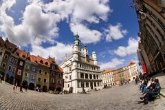 Poznan Old Town Stock Images