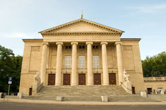 Poznan Opera House Stock Images