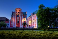 Poznan in Poland Royalty Free Stock Photography
