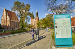 POZNAN, POLAND - APRIL 30, 2017: Cathedral and St. Mary s Church Stock Images