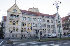 Bank Pocztowy SA building. Bank Pocztowy is a commercial bank in Poland. Poznan, Poland. Poznan, Poland - December 05, 2018: Bank Pocztowy SA building. Bank stock image