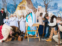 Poznan, Poland - January 6, 2017: Epiphany holiday in Christian religion Stock Images