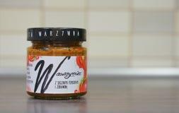 Tomato paste Royalty Free Stock Photo