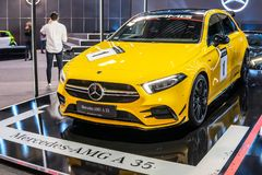 Mercedes-AMG A 35 4MATIC+ W177 A-Class car produced by Mercedes Benz stock photography