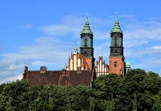 Poznan-Poland. Ostrow Tumski - cathedral. Stock Photography