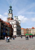 Poznan, Poland: Rynek Market Square Royalty Free Stock Photography