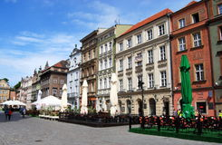 Poznan, Poland: Rynek Market Square Stock Photos