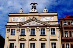 Poznan, Poland: Rynek Marlet Square Mansion Royalty Free Stock Image