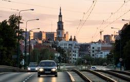 Poznan in Poland Stock Photo