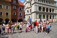 Poznan - Polen Royalty-vrije Stock Foto's