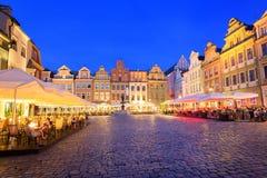 Poznan, Polen stockfotografie