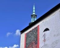 Poznan-Polen Charmig gammal stadmarknadsfyrkant Arkivbilder