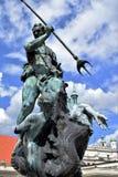 Poznan-Polen Charmig gammal stadmarknadsfyrkant Royaltyfri Foto